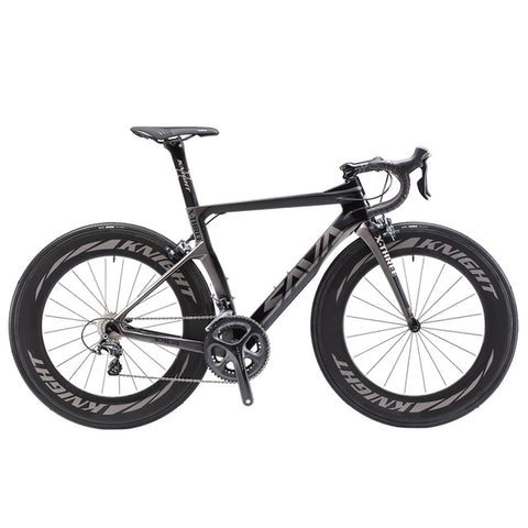SAVA 700C 22 Speed Carbon Fiber Road Bike,   - Found Lost Outdoors