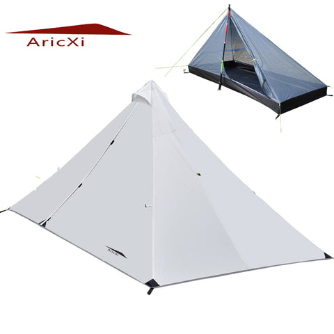 ARICXI Outdoor Ultralight 4 Season  Rodless Tent,   - Found Lost Outdoors