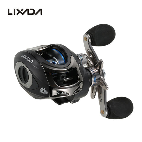 LIXADA LMA200 6.3:1 Fishing Reel,   - Found Lost Outdoors