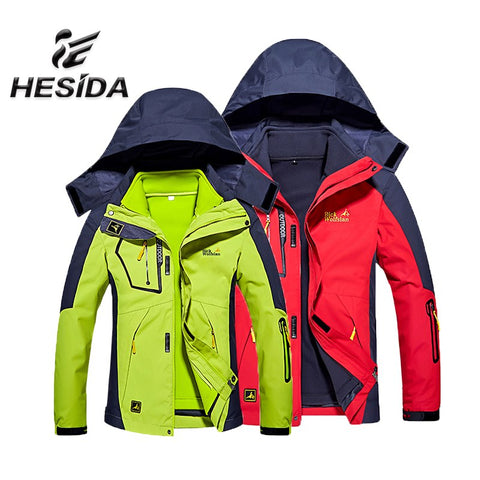 Waterproof  Windproof Thermal Winter Outdoor Hiking Jacket with Hood,   - Found Lost Outdoors