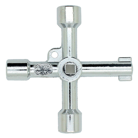5 in 1 Alloy Cross Key Wrench,   - Found Lost Outdoors