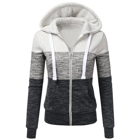 Women's Hooded British Zip Up Sweatshirt,   - Found Lost Outdoors