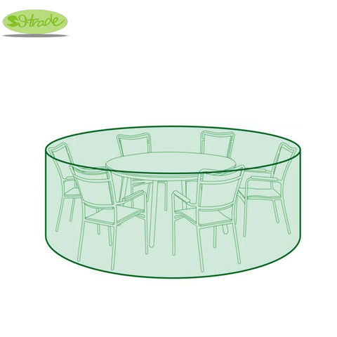 Round Protective Cover D200cm x H94cm for Chair and Table Set,   - Found Lost Outdoors