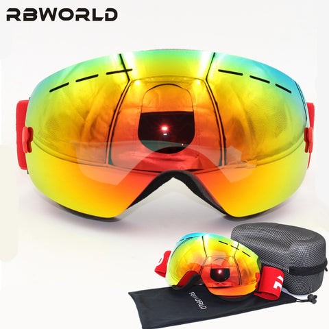 Double Lens Anti-fog Ski Goggles,   - Found Lost Outdoors