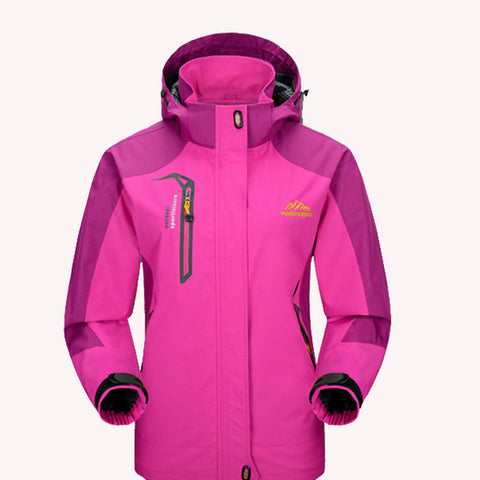 Mountainskin Women's Jackets Waterproof Spring Hooded Coats,  winter lady - Found Lost Outdoors