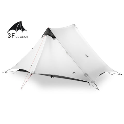 LanShan 2 3F UL GEAR 2 Person Outdoor Ultralight Camping Tent,   - Found Lost Outdoors