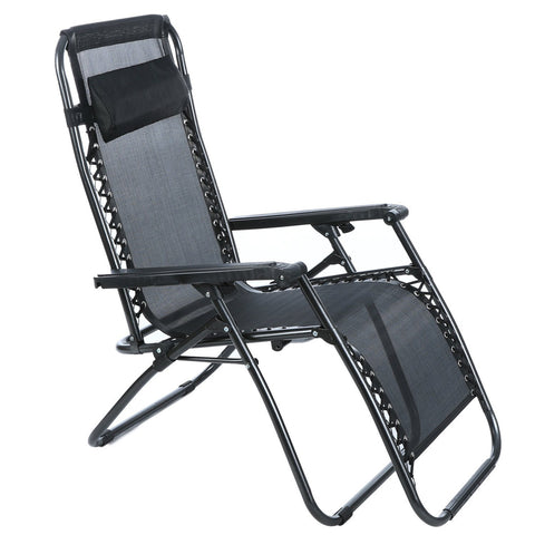 Zero Gravity Reclining Lounge Portable Garden Beach Camping Outdoor Chair Loungers,   - Found Lost Outdoors