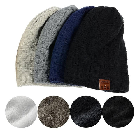 Wireless Removable Bluetooth Beanie Hat,   - Found Lost Outdoors