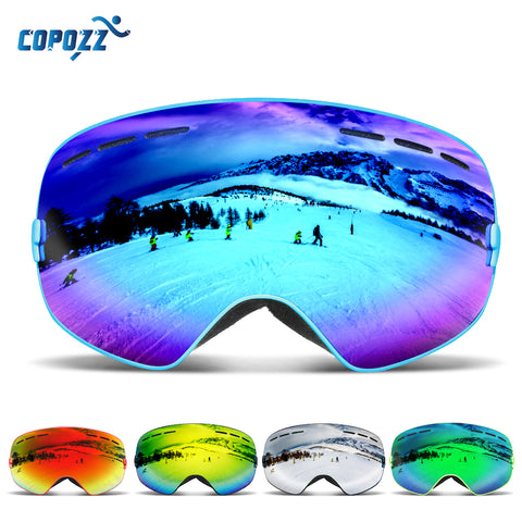 UV400 Protective Anti-Fog Snow Skiing Goggles,   - Found Lost Outdoors