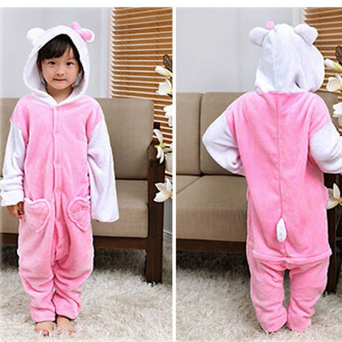 Kids Cute Animal Onepiece Jumsuit Sleepers,   - Found Lost Outdoors