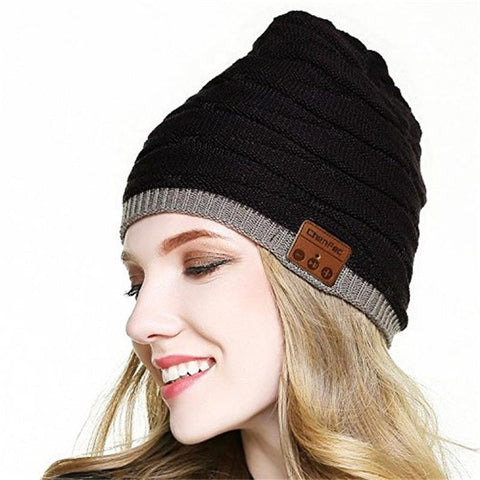 Wireless Removable Bluetooth Beanie Hat