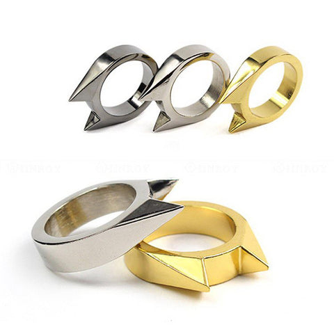 Mini Alloy Self-Defense Ring,  Accessories - Found Lost Outdoors