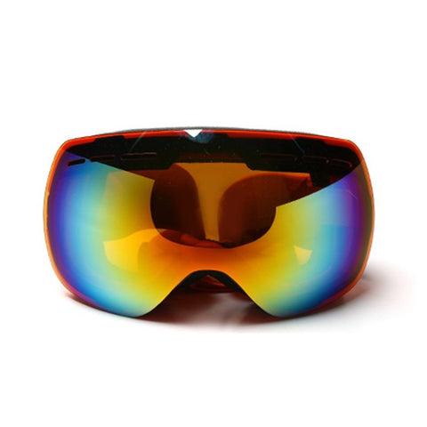Sposun HX021 Anti-Fog Ski Glasses Breathable Snowboard Motocross Goggles Double Layered