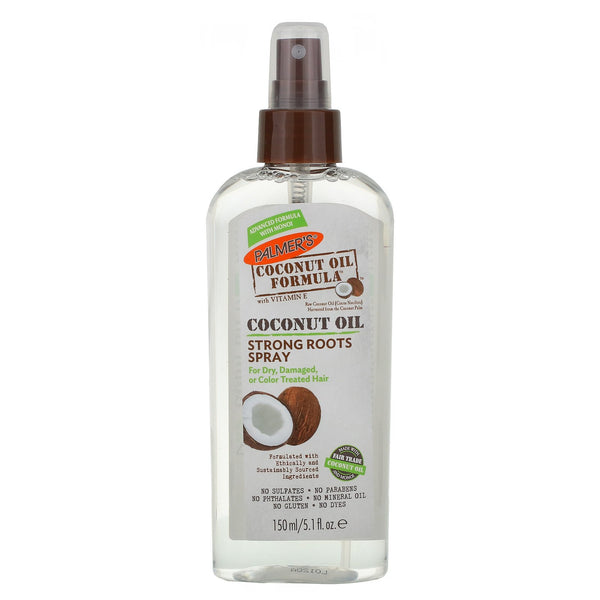 [Palmers] Coconut Oil Strong Roots Spray 5.1Oz - C_Hair Care