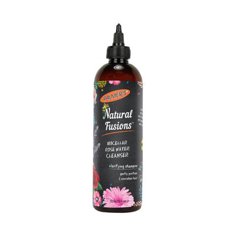 PALMERS Natural Fusions Micellar Rose Water Cleanser clarifying Shampoo 12oz
