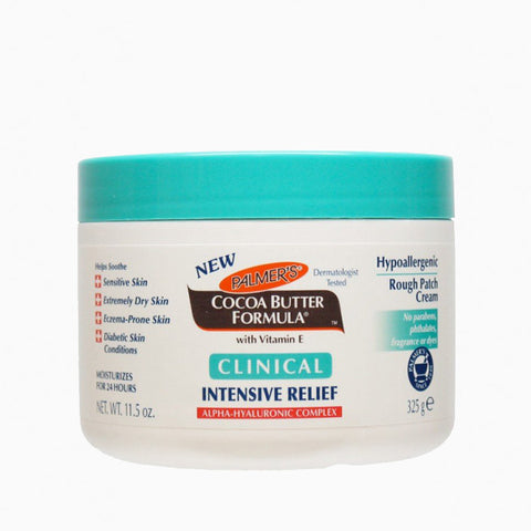 [Palmers] Cocoa Butter Formula Clinical Intensive Relief Hypoallergenic Rough Patch Cream 11.5Oz - C_Skin Care