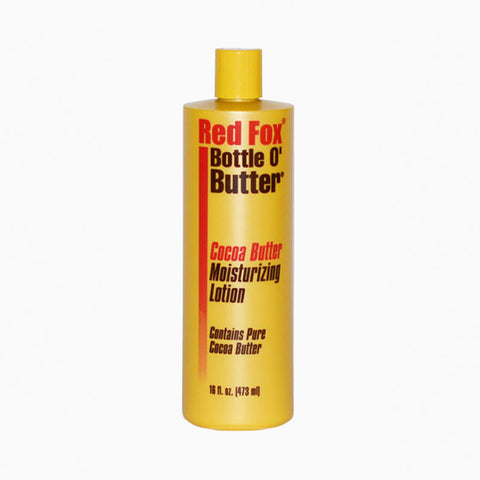 [Red Fox] Cocoa Butter Lotion 16Oz - C_Skin Care