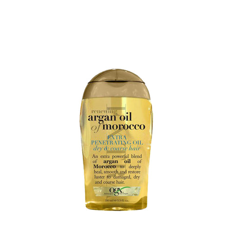 ORGANIX Renewing ARGAN OIL OF MOROCCO Extra Penetrating Oil Dry & Coarse Hair 3.3oz