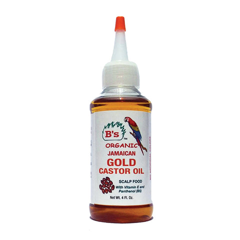 B'S Jamaican Gold Castor Oil 4oz