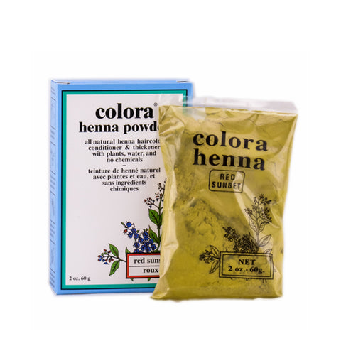 [Colora] Henna Powder2Oz Natural [Black] - C_Hair Care-Hair Color