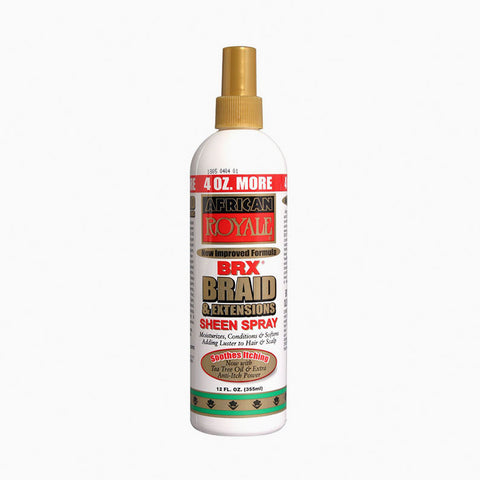 [African Royale] Braid Sheen Spray 12Oz - C_Hair Care-Braids & Locs & Twists