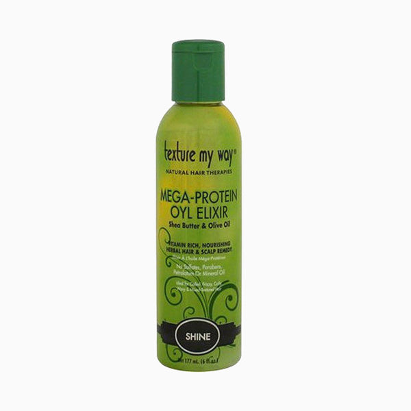 [Texture My Way] Mega-Protein Oyl Elixir Hair & Scalp Remedy 6Oz - C_Hair Care