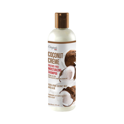 AFRICA'S BEST COCONUT CRÈME Sulfate-Free Moisturizing Shampoo 12oz