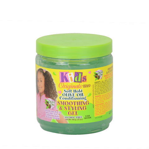 AFRICA'S BEST Kids Smoothing & Styling Gel 15oz
