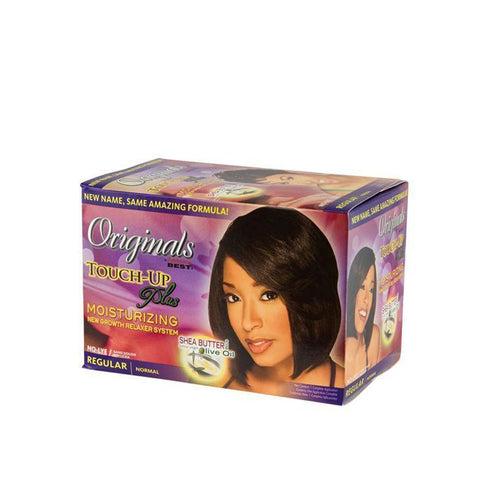 AFRICA'S BEST Touch-Up Plus No-Lye Relaxer [REG] KIT