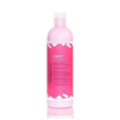 [Aunt Jackies] Girls Knot Having It Leave-In Detangling Moisturizer 12Oz - C_Kids & Baby-Hair Care