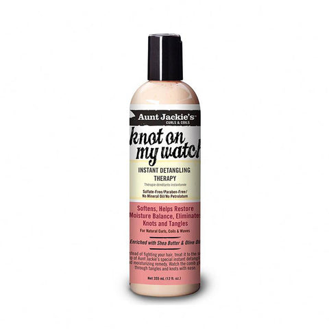 [Aunt Jackies] Knot On My Watch Instant Detangling Therapy 12Oz - C_Hair Care