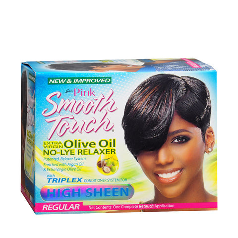 PINK SMOOTH TOUCH New Growth Relaxer Kit (No-Lye)