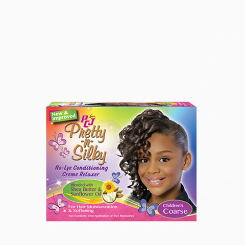 [Pcj] Pretty-N-Silky No-Lye Conditioning Creme Relaxer - Coarse - C_Kids & Baby-Hair Care