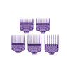 ANDIS Attachment Comb Nano Silver Magnetic 5pcs