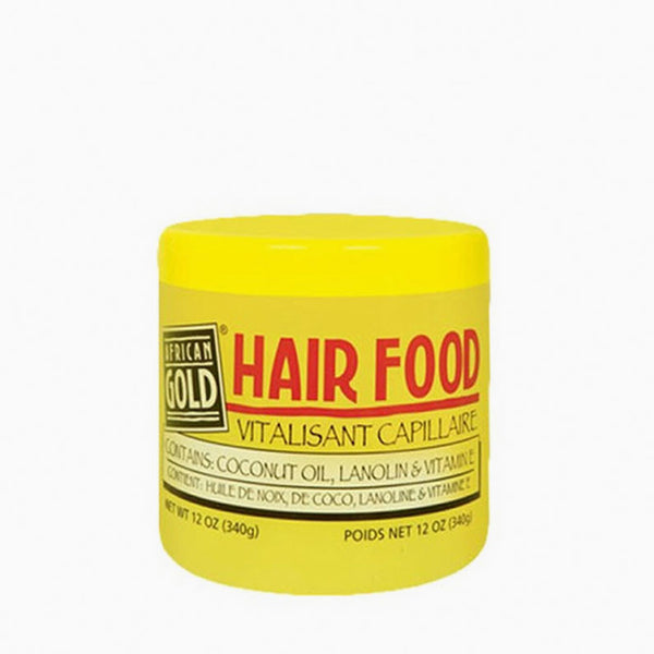 [African Gold] Hair Food 12Oz - C_Hair Care-Braids & Locs & Twists