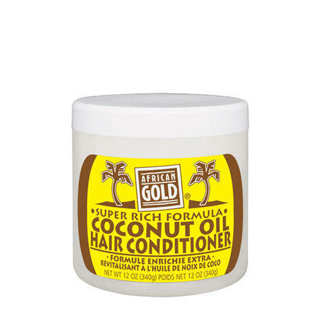 AFRICAN GOLD Coconut Conditioner 12oz