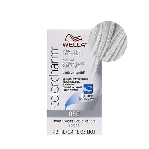 WELLA COLOR CHARM Permanent Liquid Hair Color 050 Cooling Violet