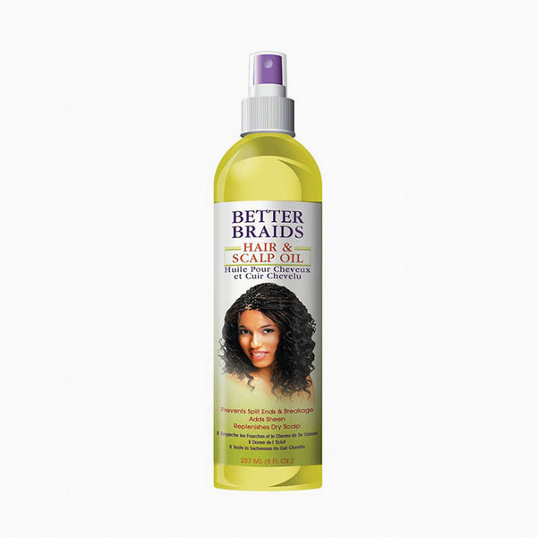 [Better Braids] Hair & Scalp Oil 8Oz - C_Hair Care-Braids & Locs & Twists