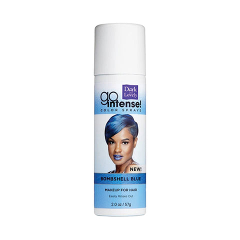 [Dark And Lovely] Go Intense Color Sprays - Bombshell Blue - C_Hair Care-Hair Color