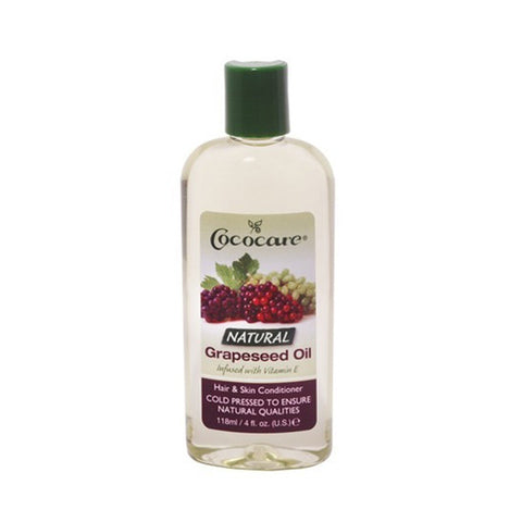 COCOCARE Natural Grapeseed Oil 4oz