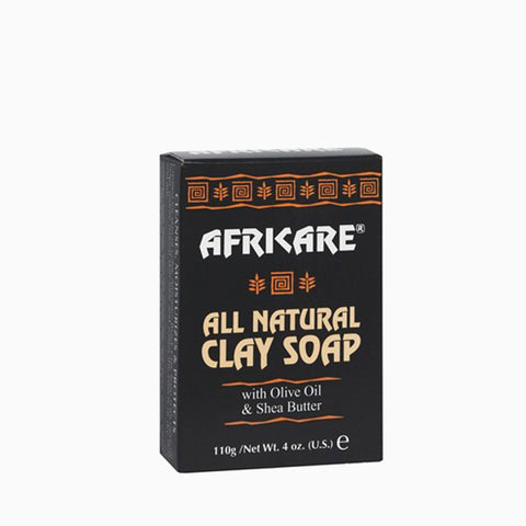 [Cococare Africare] All Natural Clay Soap With Olive Oil & Shea Butter 4Oz - C_Skin Care