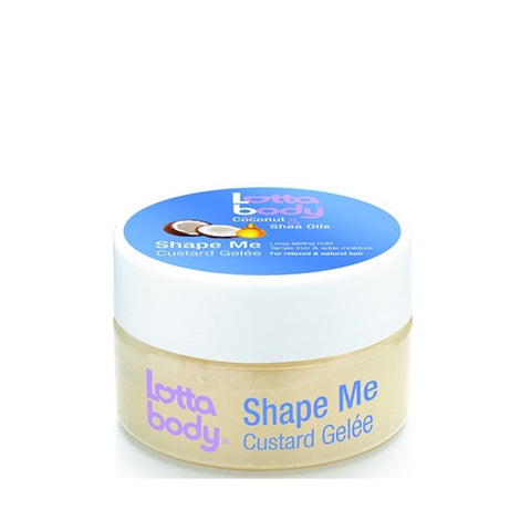 [Lotta Body] Coconut & Shea Oils Shape Me Custard Gelee 7Oz - C_Hair Care