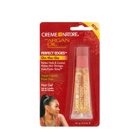 CREME OF NATURE ARGAN OIL Perfect Edges On-The-Go (Tube) 0.05oz