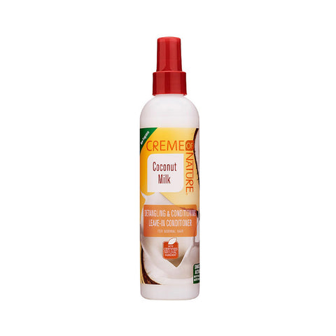 [CREME OF NATURE] Coconut Milk Detangling & Conditioning Leave-In Conditioner 8.45oz