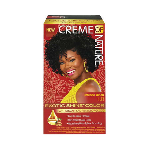 CREME OF NATURE ARGAN OIL Exotic Shine Color