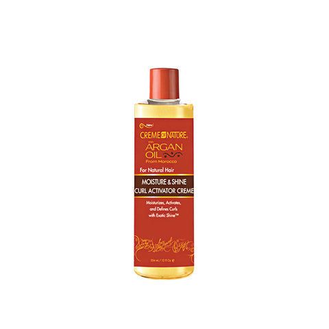 [Creme Of Nature] Argan Oil For Natural Hair Curl Activator Cream 12Oz - C_Hair Care