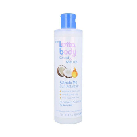 [Lotta Body] Coconut & Shea Oil Activate Me Curl Activator 10.1Oz - C_Hair Care