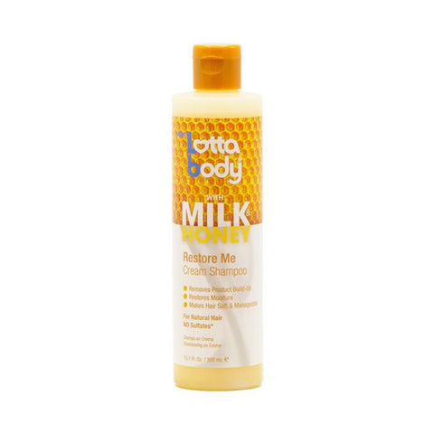 [LOTTA BODY] LOTTABODY MILK&HONEY CREAM SHAMPOO 10.1oz