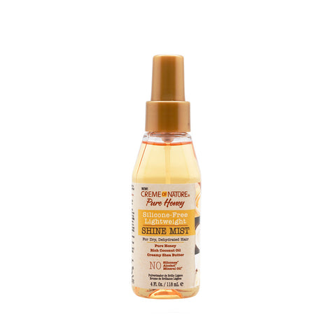 CREME OF NATURE PURE HONEY Silicone-Free Lightweight Shine Mist 4oz