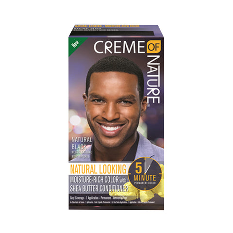 CREME OF NATURE Mens 5 Minute Hair Color KIT
